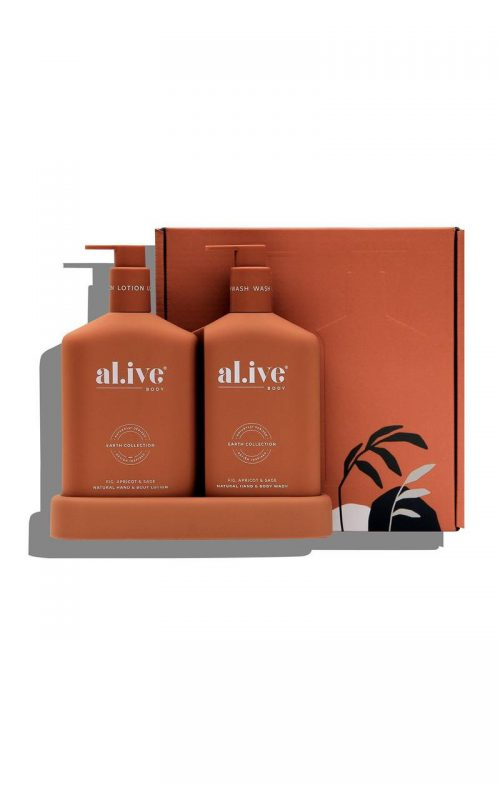 ALIVE BODY DUO SET FIG APRICOT SAGE