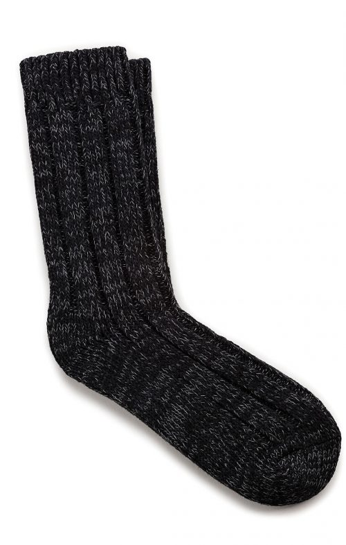 BIRKENSTOCK SOCKS COTTON TWIST BLACK