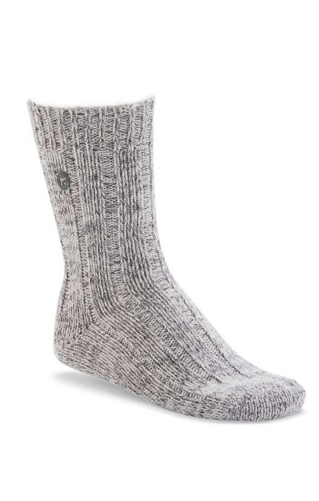 BIRKENSTOCK SOCKS COTTON TWIST LIGHT GREY