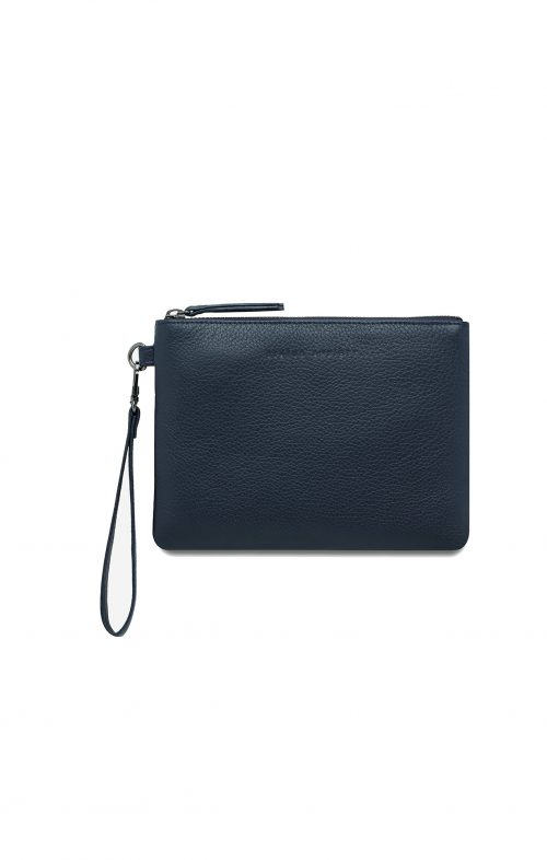 STATUS ANXIETY FIXATION WALLET NAVY