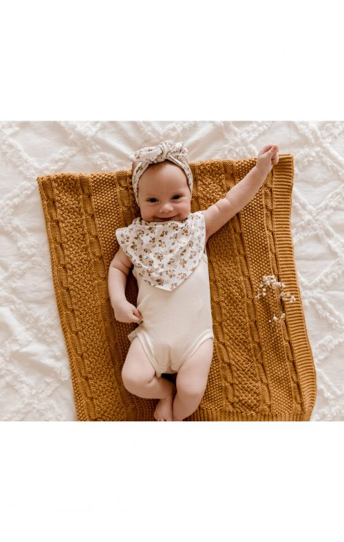 LUNA TREASURES 100% COTTON BABY BLANKETS