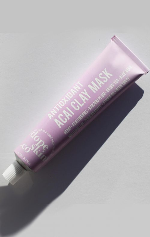 DOPESKIN.CO ANTIOXIDANT ACAI HEMP CLAY MASK