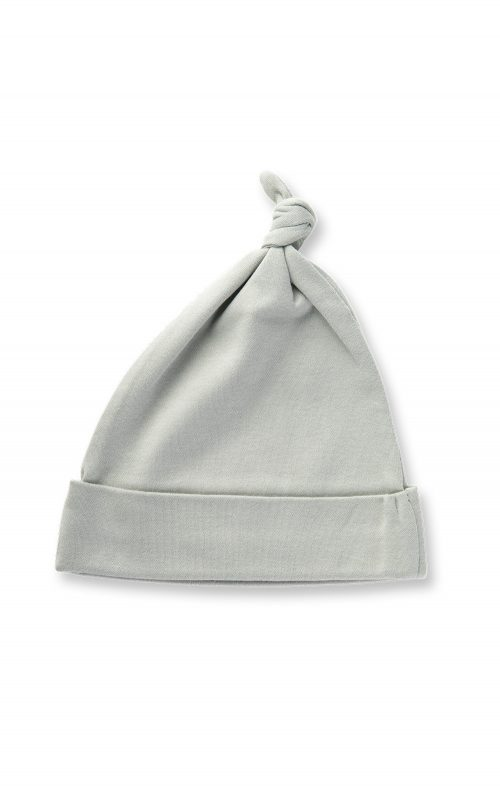 SAPLING DOVE GREY KNOTTED HAT