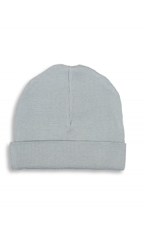 SAPLING CHILD WAFFLE HAT ALPINE GREY