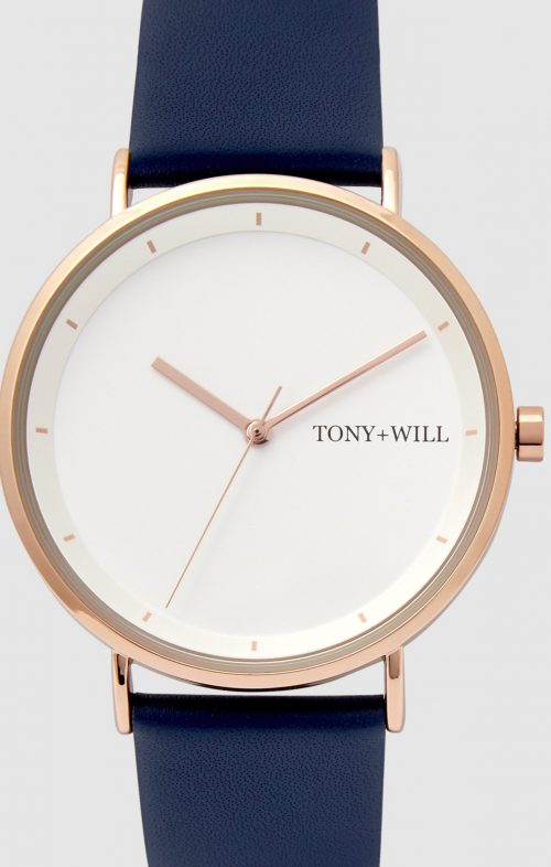 TONY WILL LUNAR WATCH NAVY
