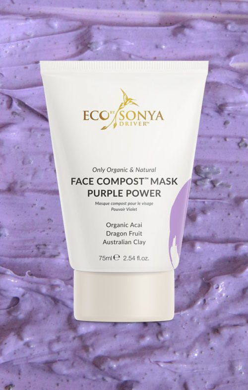ECO TAN FACE COMPOST PURPLE POWER MASK