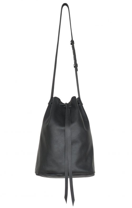 GRAINE EAST OF BRUNSWICK LEATHER BAG BLACK