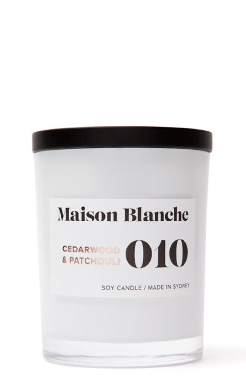 MAISON BLANCHE CANDLES MEDIUM