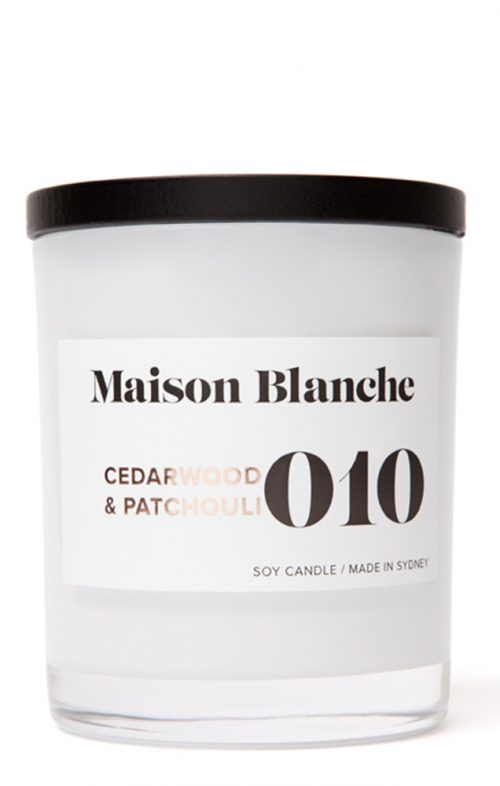 MAISON BLANCHE CANDLES LARGE