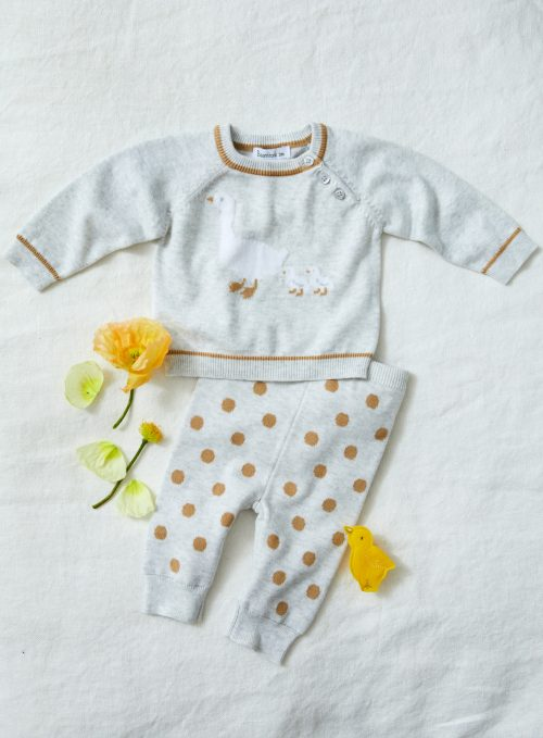 BEANSTORK GREY MOTHERGOOSE SET