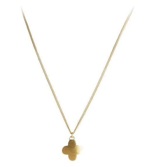 FAIRLEY NECKLACE MOROCCAN DROP GOLD