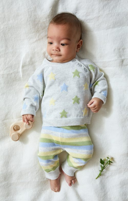 BEANSTORK SOFT STRIPE SET
