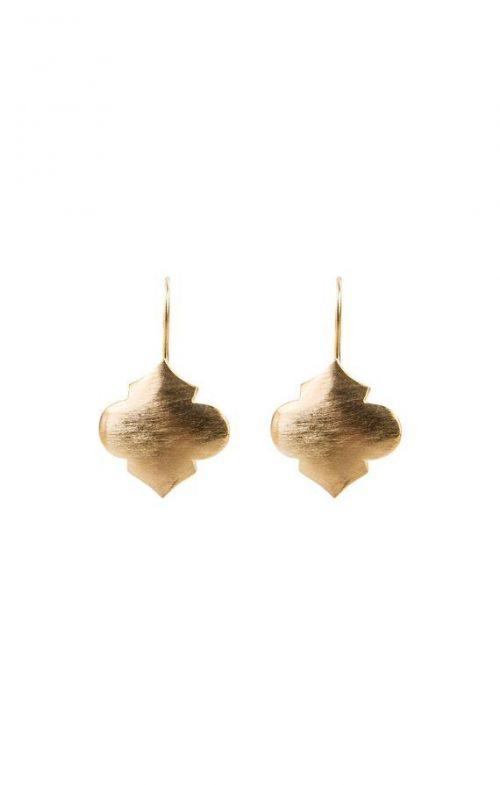 FAIRLEY EARRINGS MOROCCAN DROP GOLD