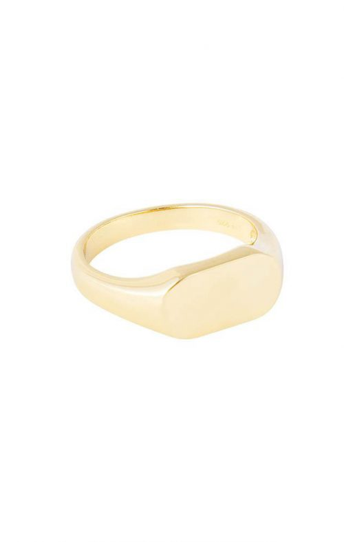 FAIRLEY RING CLASSIC SIGNET GOLD