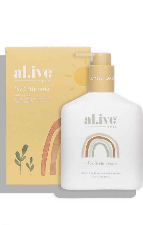 ALIVE BABY GENTLE PEAR HAIR BODY WASH