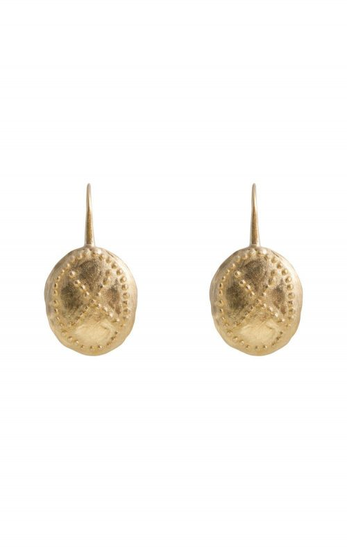 FAIRLEY EARRINGS WARRIOR GOLD