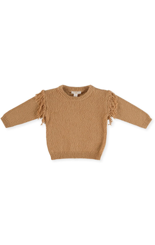 GROWN FRILL PULLOVER SANDSTORM