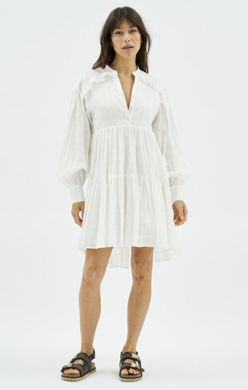 MINKPINK PIPPY SHIRT SMOCK DRESS