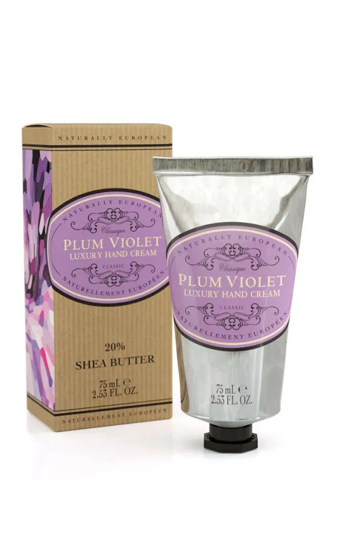 NATURALLY EUROPEAN PLUM VIOLET HAND CREAM