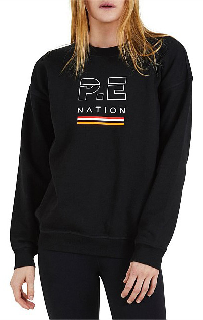 PE-NATION IGNITION SWEAT BLACK