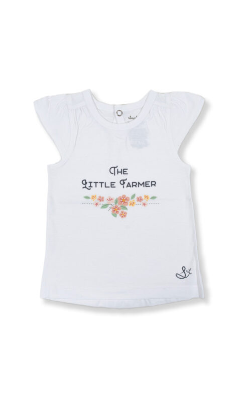 SAPLING CHILD LITTLE FARMER FLUTTER TEE