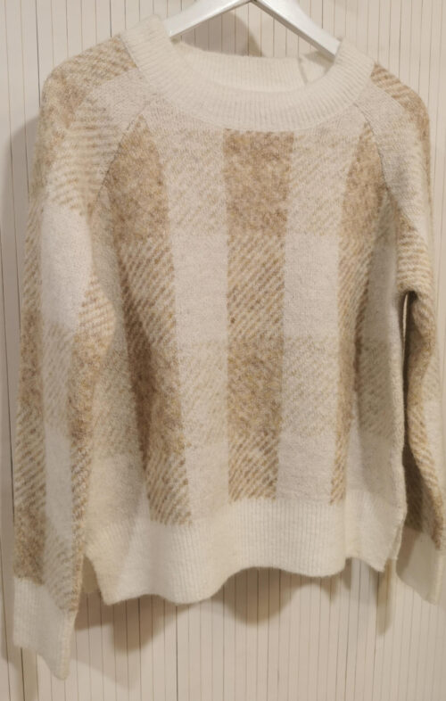 FAITH KNIT WOOL MIX BEIGE