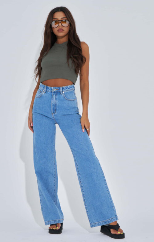 ABRAND 94 HIGH WIDE JEANS DEBBIE