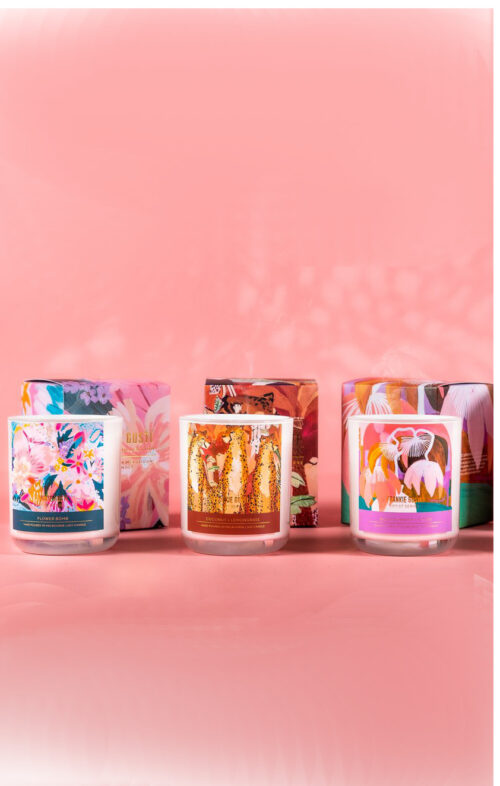 FRANKIE GUSTI ARTIST SERIES CANDLES