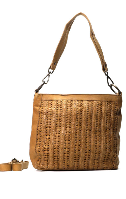 MAHSON AND CO MARRAKECH BAG TAN