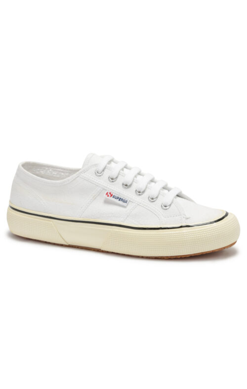 SUPERGA 2490 WHITE BLACK SNEAKER