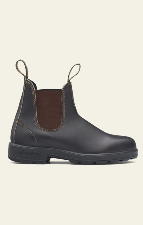 BLUNDSTONE 500 CHELSEA BOOT STOUT BROWN