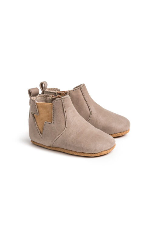 PRETTY BRAVE BABY SHOE ELECTRIC TAUPE